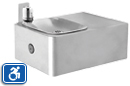 Haws 1025G | Wall Mounted Galvanized Steel ADA Drinking Fountain