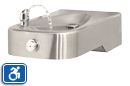 Haws 1107L | Wall Mounted ADA Stainless Steel Drinking Fountain