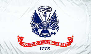 United States Army Military Flag Graphic