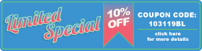 Limited Special - 10% Off All Bleachers