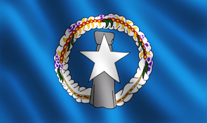 Northern Mariana Islands Commonwealth Flag Graphic