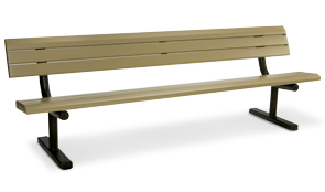 Model 3040-08 | 8' Portable Bench (Cedar/Brown)