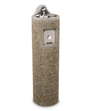Model 3060-CC | Circular Concrete Drinking Fountain