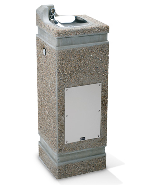 Model 3121-CC | Concrete Drinking Fountain