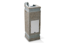 Haws 3121 | Concrete Drinking Fountain on Square Pedestal