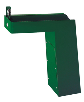 Model 3202 | Outdoor ADA Drinking Fountain with Contemporary Pedestal and Custom Color Options