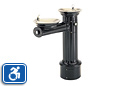 Haws 3511FR | Antique Style Outdoor Dual Height Round Pedestal ADA Drinking Fountain | Freeze Resistant