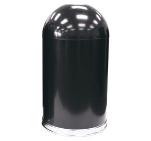 Large Capacity Open Top Dome Trash Can | Belson Outdoors®