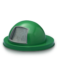 Model 5555GN | Dome Top Drum Lid (Painted Green)