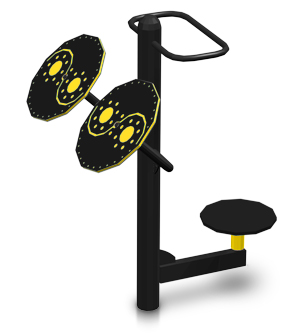6713f886b Tai Chi and Rotator | Outdoor Fitness Machine | Belson Outdoors®