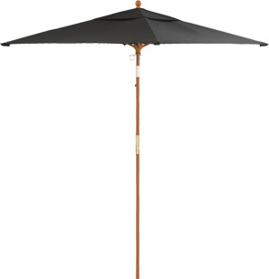 Model 98851731 | 6' Square Umbrella (Black)