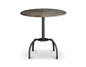 Model 9981TT37 & Model 99528117 | Bar Height Tulip Table Base (Textured Boulder/Black)