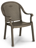 Model 99720037 | Sumatra Resin Chairs with Metal Style Finish (Bronze Mist)