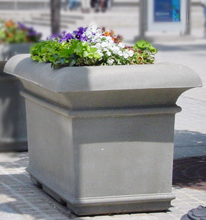 Model A-48X48X36 | Square Concrete Planter (Dove Gray | LSB Finish)
