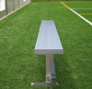 Model AB75NB-S | 7-1/2 Foot Lenght Team Series Aluminum Player Bench