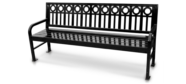 Model ASP74 | 6' Aspen Series Park Bench