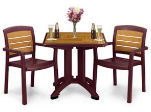 Café Tables Chairs Bordeaux