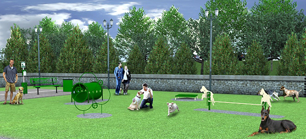 Best In Show Course Kit Dog Park Amenities Belson
