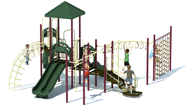 Crocodile Cove Playground Structure