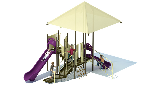 Butterfly Base Playground Structure