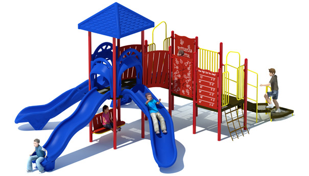 Slide City Playground Structure