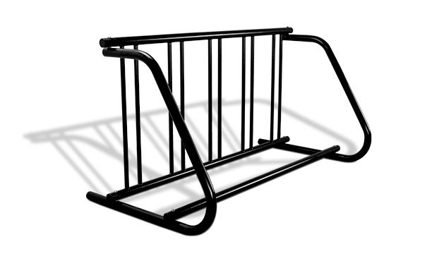 grid bike racks single sided