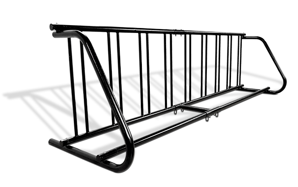Grid Bike Racks Single Sided With Extension Couplers