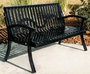Model CC4WB-P | Classic Portable Bench (Black)