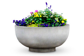 Model CCRP3 | 3' Diameter Planter (Terra Cotta)