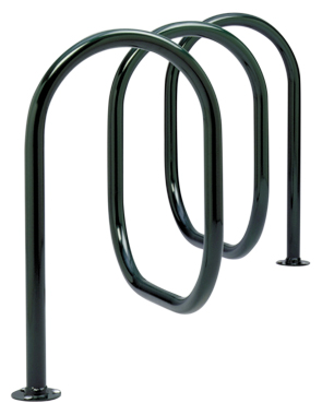 Model CIR-6-SF-P | Circa 2000™ Cycle Rack (Black)