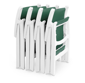 Jersey Midback Folding Deck Chairs Color Options