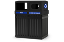ArchTec Parkview Trash/Recycling Double Unit Receptacle