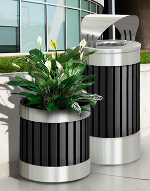 Model DC-727643 | ArchTec Series Riverview Planter with Liner