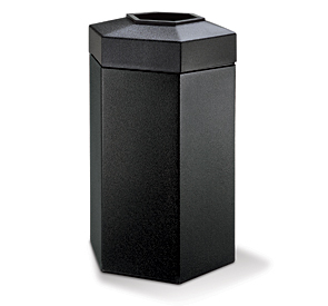 Model DC-737501 | 50 Gallon Hexagon Waste Container