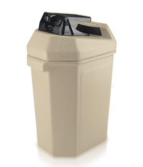 Model DC-745102 | Can Pactor II Recycling Trash Can