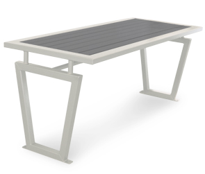 Model DXTR6 | Decora Style Recycled Plastic Outdoor Bench Table