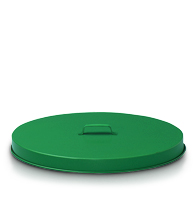 Model FT255P | Flat Top Drum Lid (Painted Green)