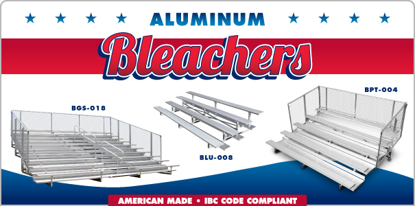 American Made Aluminum Bleachers