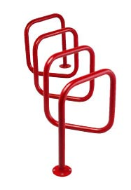 Model G8-P-SF | Genesis™ Bike Rack (Red)