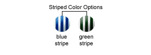 Striped Color Options