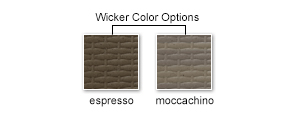 Wicker Color Options