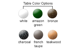 Table Color Options