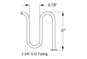 Quick Dimensions for Heavy-Duty Challenger Bike Rack