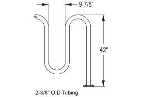Quick Dimensions for Heavy-Duty Winder Bike Rack