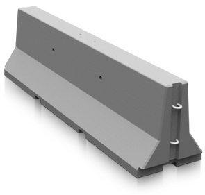 Model JBSE-8 | Precast Concrete Jersey Barrier