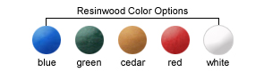 Resinwood Color Options