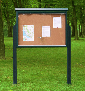 Outdoor Community Bulletin Board Message Centers Belson Outdoors