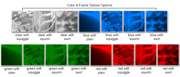 Color & Frame Texture Options