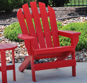 Cape Cod Recycled Plastic Adirondack Chair