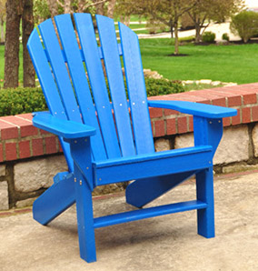 Seaside Recycled Plastic Adirondack Chair